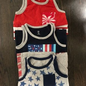 GAP Shirts & Tops - 4T Gap Tank Tops